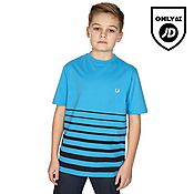Fred Perry Degrade Striped T-Shirt Junior