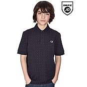 Fred Perry Polka Polo Shirt Junior