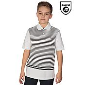 Fred Perry Stripe Tip Polo Juniors