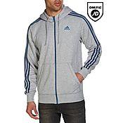 adidas 3-Stripes Essential Full Zip Hoody