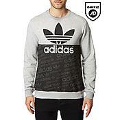 adidas Originals Trefoil Block Sweatshirt