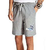 PUMA Graphic Fleece Shorts