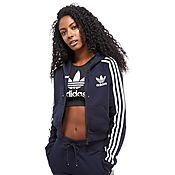 adidas Originals Bermuda Trefoil Crop Top