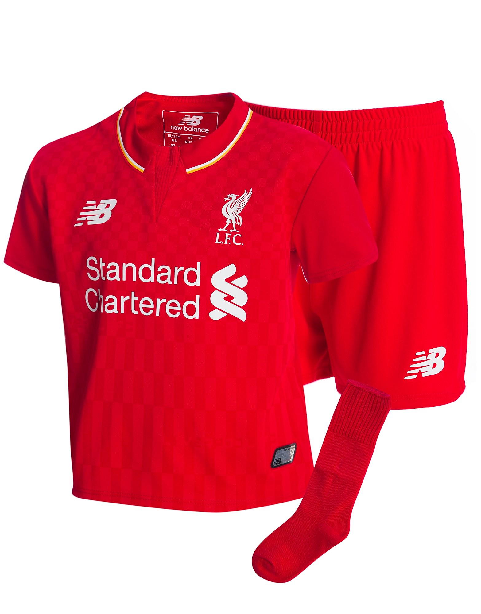 New Balance Liverpool FC 2015 Home Kit Infant - Red - Kids, Red