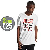 Nike Just Do It Paint T-Shirt