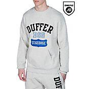 Duffer of St George Logo Crew Sweatshirt