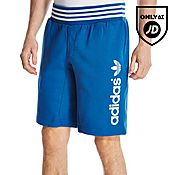 adidas Originals Trefoil 3 Stripe Linear Shorts