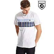 Fred Perry Tartan Oxford T-Shirt