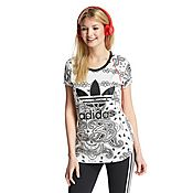 adidas Originals Paisley T-Shirt
