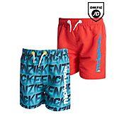 McKenzie Fabian 2 Pack Swim Shorts Infant