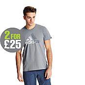 adidas Ray Logo T-Shirt