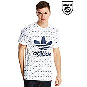 adidas Originals Trefoil Repeating Logo T-Shirt