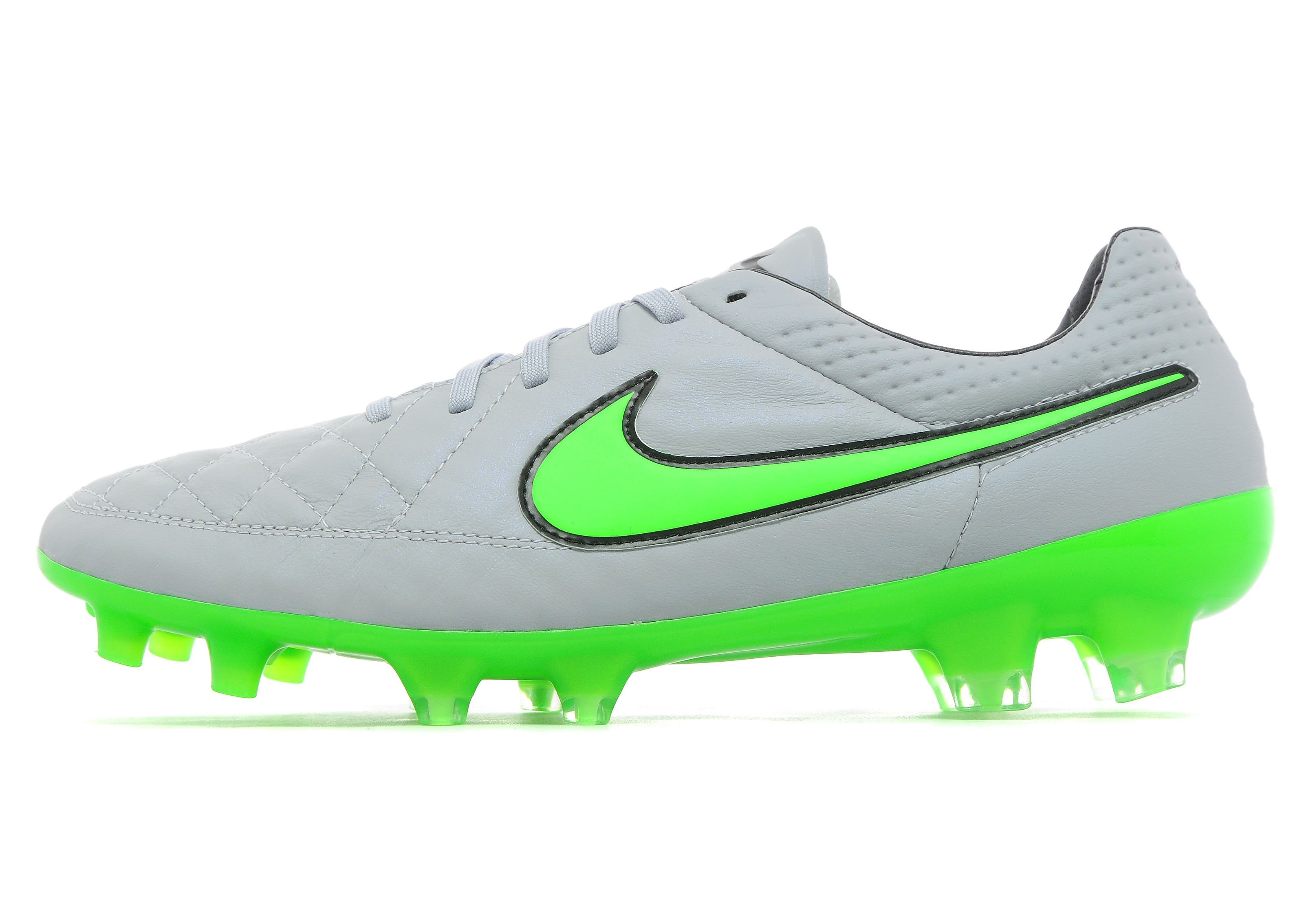 Mens Silver Storm Pack Tiempo Legend V FG Wolf Grey