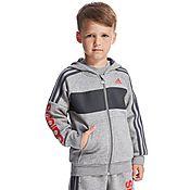 adidas Linear Full Zip Hoody Children