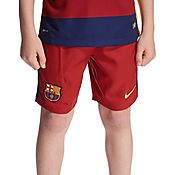 Nike FC Barcelona 2015 Junior Home Shorts PRE ORDER