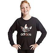 adidas Originals Girls Paris Infil Sweatshirt Junior