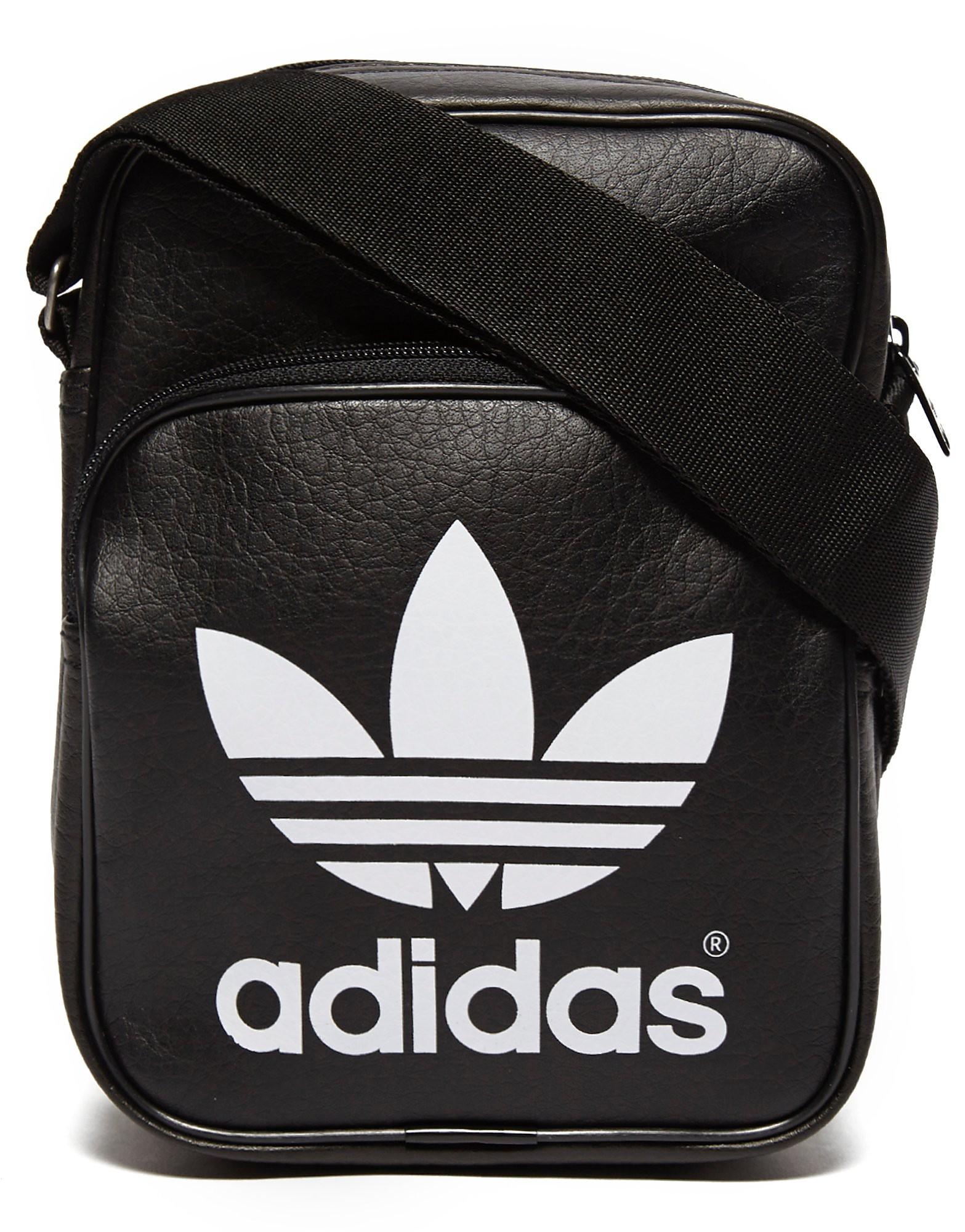 adidas Originals Mini Classic Small Items Bag - Black - Mens, Black