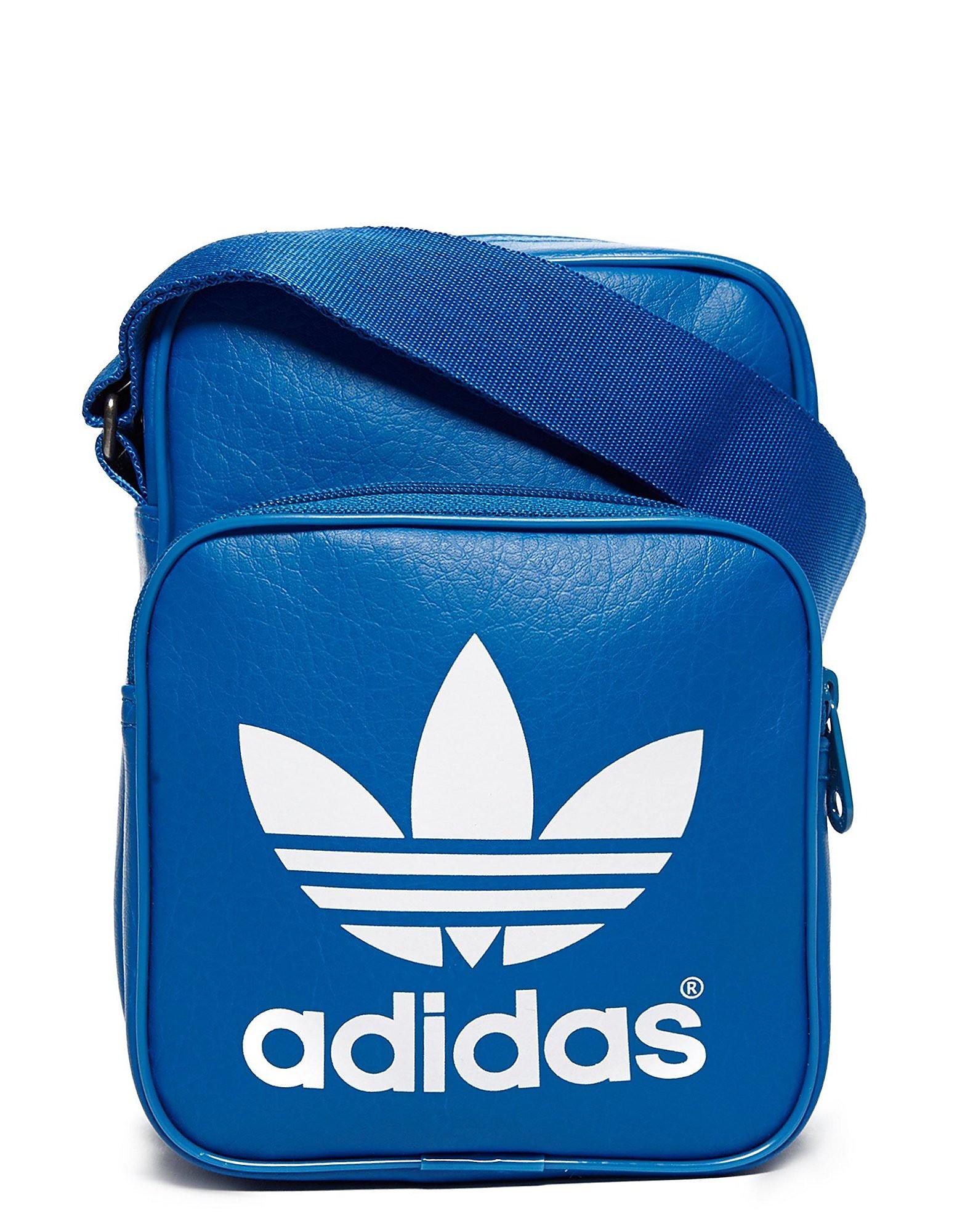 adidas Originals Mini Classic Small Items Bag - Bluebird - Mens, Bluebird