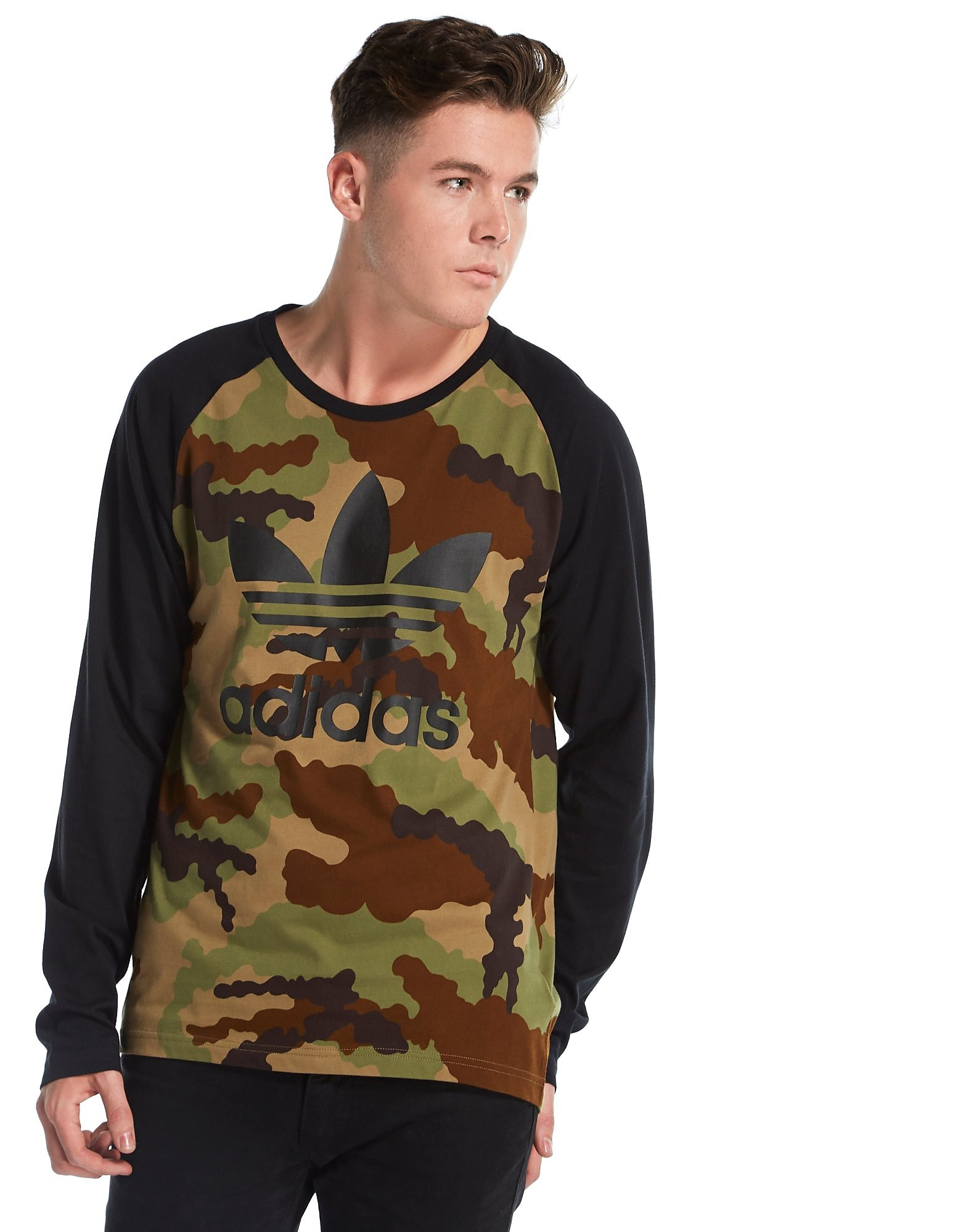 Adidas Camouflage t Shirt T-shirt Camouflage