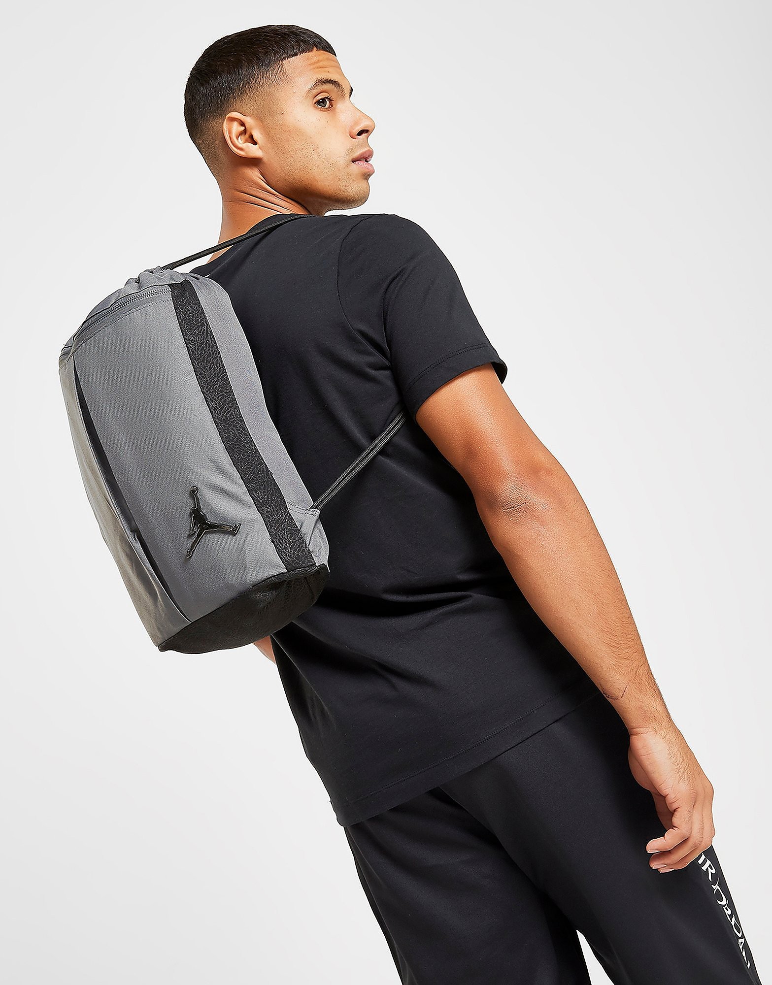Nike Heritage Gymsack - Grey - Mens, Grey