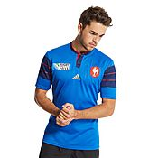 adidas France Rugby World Cup Home 2015 Shirt