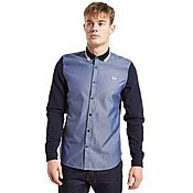Fred Perry Tipped Pique Oxford Shirt