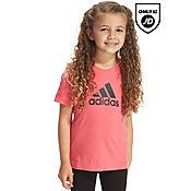 adidas Girls Logo T-Shirt Children