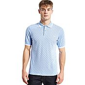 Fred Perry Twin Tipped Print Polo Shirt