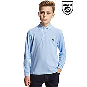 Fred Perry Longsleeve Polo Shirt Junior