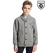 Fred Perry Shawl Button Sweatshirt Junior