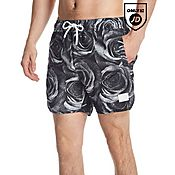 Supply & Demand Marble Rose Swimming Shorts