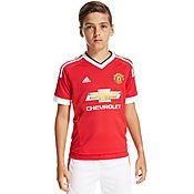 adidas Manchester United 2015/16 Home Shirt Junior