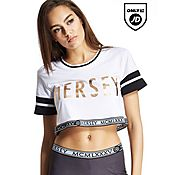 Beck and Hersey Bedford Crop T-Shirt