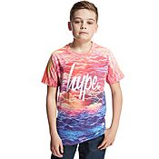 Hype Red Sky T-Shirt Junior
