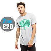 Official Team Northern Ireland Scroll T-Shirt