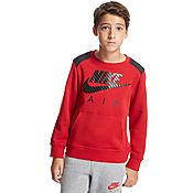 Nike Air Overlay Crew Sweatshirt Junior