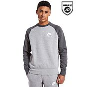 Nike Air Fleece Raglan Crew Sweatshirt