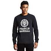Franklin & Marshall Seal Stack Crew Sweatshirt