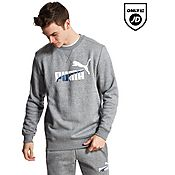 PUMA Graphic Crew Sweatshirt