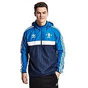 adidas Originals Chelsea FC Half Zip Windbreaker Jacket