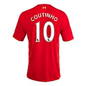 New Balance Liverpool 2015 Coutinho Home Shirt