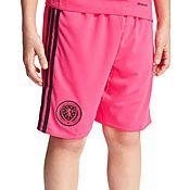 adidas Scotland Away 2016 Shorts Junior PRE ORDER
