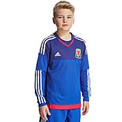 adidas FA Wales Away 2016 GK Shirt Junior
