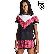 Supply & Demand Marble Rose Crop T-Shirt