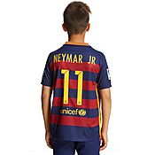 Nike FC Barcelona 2015 Junior Neymar JR Home Shirt