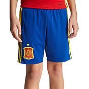 adidas Spain 2016 Home Shorts Junior