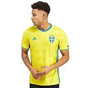 adidas Sweden 2016 Home Shirt
