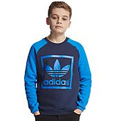 adidas Originals Box Crew Sweatshirt Junior