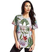 adidas Originals Boyfriend Trefoil T-Shirt Floral Pack