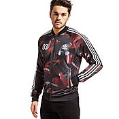 adidas Originals Trefoil All-Over Print Superstar Track Jacket